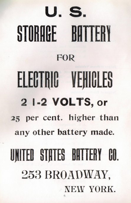 US Battery Co advertisement